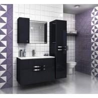 Комплект мебели EDELFORM NOTA / Нота 90 (черный, глянец)