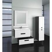 Комплект мебели EDELFORM DEKO / Деко 75 (черный с белым, глянец)