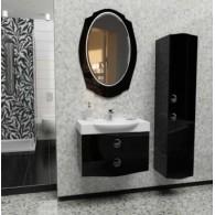 Комплект мебели EDELFORM TONDO / Тондо 75 (черный, глянец)
