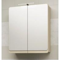 Зеркальный шкафчик со светильником Edelform CALMA / КАЛЬМА 90 (олива матовая)