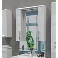Зеркальный шкаф EDELFORM SOLO / Соло III 75 (белый, глянец)