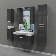 Комплект мебели EDELFORM SOLO / Соло 65 (серый, глянец)