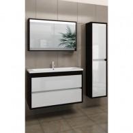 Комплект мебели EDELFORM CONSTANTE / Константе 80 (венге, белый глянец)