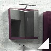 Зеркальный шкафчик Edelform CONCORDE / КОНКОРД 80 (махагон, глянец)
