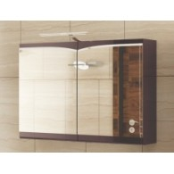 Зеркальный шкафчик Edelform CONCORDE / КОНКОРД 100 (махагон, глянец)