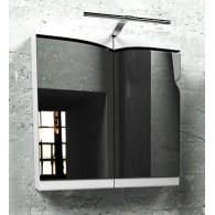 Зеркальный шкафчик Edelform CONCORDE / КОНКОРД 65 (белый, глянец)