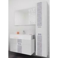 Комплект мебели Edelform EDEL / ЭДЕЛЬ 80 (белый, глянец)