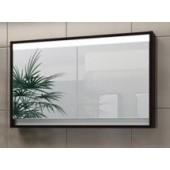 Зеркальный шкафчик CONSTANTE / Константе 80 (венге, белый глянец)