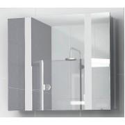 Шкафчик зеркальный Edelform FRESH / ФРЕШ 80 (белый, глянец)