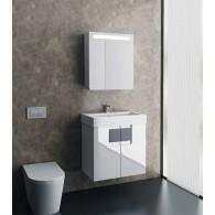 Комплект мебели EDELFORM GLASS / ГЛАСС 80 (белый)