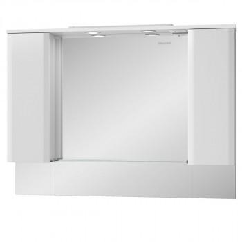 Шкаф зеркальный AMATA(АМАТА) 120 Edelform белый
