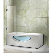 Стеклянная шторка 600х1500 на ванну OPORTO 604-1