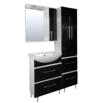 "Мебель для ванной комнаты Сатэм ""ЧЁРНЫЙ"""