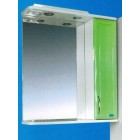 Зеркальный шкаф со светильником №3-65 Ф3 (зеленый)
