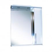 Зеркальный шкаф со светильником №3-65 Ф4 (венге) L/R