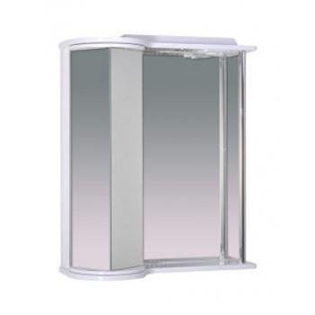 """Шкаф зеркальный со светильником 650 """"Галактика"""" (левая)"""