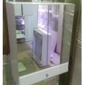 Зеркальный шкаф 510 с ящиком
