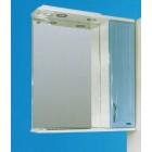 Зеркальный шкаф со светильником №3-65 Ф3 (голубой)