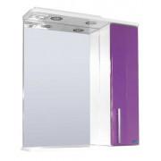 Зеркальный шкаф со светильником №3-60 Ф4 (Виолетта)