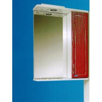 Зеркальный шкаф со светильником №3-55 Ф4 (санрайз)