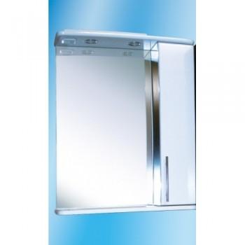 Зеркальный шкаф со светильником №3-60 Ф4 (венге)