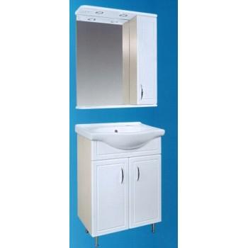 "Мебель для ванной комнаты Сатэм ""МОЛОЧНЫЙ ДУБ"""