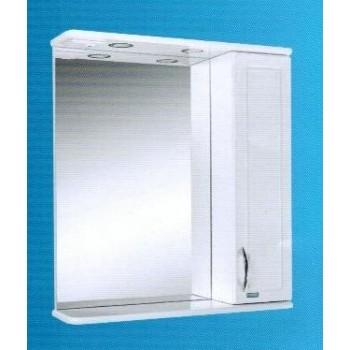 Зеркальный шкаф со светильником №3-75 Ф4 L/R