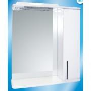 Зеркальный шкаф со светильником №3-60 Ф4 (техно) L/R
