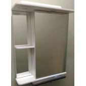 Зеркальный шкаф со светильником 550 L/R