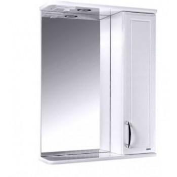 Зеркальный шкаф со светильником №3-55 Ф4 L/R