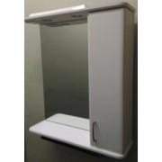 Зеркальный шкаф со светильником №3-75 Ф2 L/R
