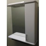 Зеркальный шкаф со светильником №2-75 Ф2 L/R