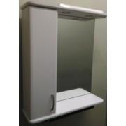 Зеркальный шкаф со светильником №3-60 Ф2 L/R