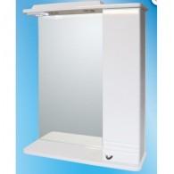Зеркальный шкаф со светильником №3-65 Ф1 (правый)