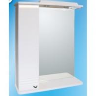 Зеркальный шкаф со светильником №3-60 Ф1 L/R
