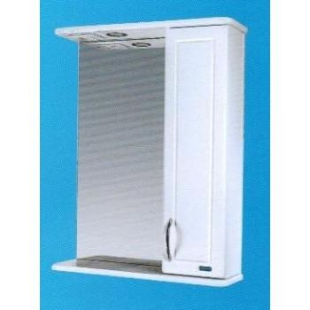 Зеркальный шкаф со светильником №3-50 Ф3 L/R
