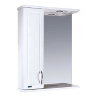 Зеркальный шкаф со светильником №3-55 Ф3 L/R