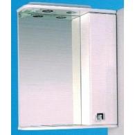 Зеркальный шкаф со светильником №3-60 Ф1 L/R Меандр