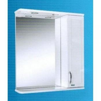 Зеркальный шкаф со светильником №3-65 Ф4 L/R