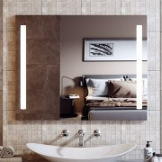 Зеркало с подсветкой Alavann Neve Duo 80