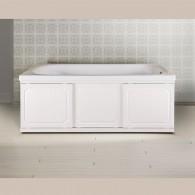 Экран под ванну Ametist раздвижной (купе) 150 см МДФ белый