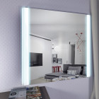 Зеркало с подсветкой Tess 800Х800 Alavann