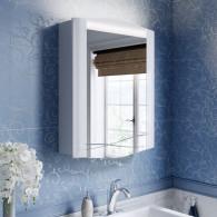 Зеркало-шкаф Alavann Silvia 60 белый