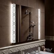 Зеркало с подсветкой Elizabeth 800Х800 Alavann