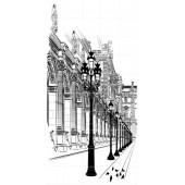 Панно "Sketch Paris" арт. 60301