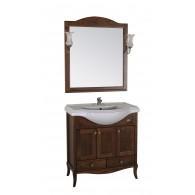 """Комплект мебели """"Салерно - 80"""" массив ясеня """"АСБ - мебель"""""""