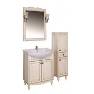 """Комплект мебели """"ВЕРОНА - 65"""" массив ясеня, бежевый/патина """"АСБ - мебель"""""""