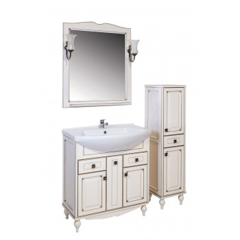 """Комплект мебели """"ВЕРОНА - 75"""" массив ясеня, бежевый/патина """"АСБ - мебель"""""""