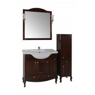 """Комплект мебели Флоренция 105 массив ясеня,цвет бук тироль """"ASB-мебель"""""""