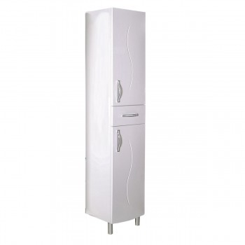 "Шкаф - пенал ""ГРЕТА - 40"" L/R, цвет белый, ""АСБ - мебель"""